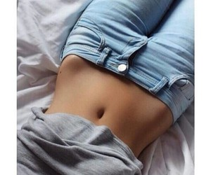 body, jeans, and fitness image
