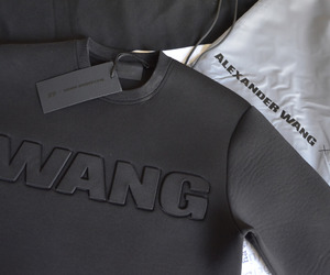 fashion, black, and wang image
