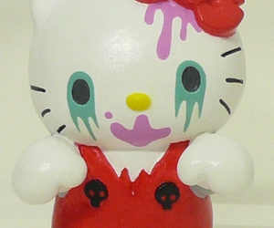 hello kitty, zombie, and mad barbarians image