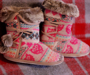 fur, girly, and shoes image