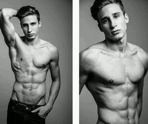 abs, fashion, and model image