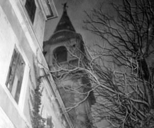 black and white, dark, and venice image