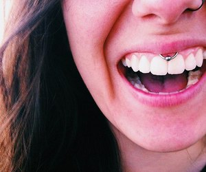 girl and piercing image