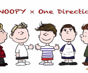 peanuts, snoopy, and 1d image