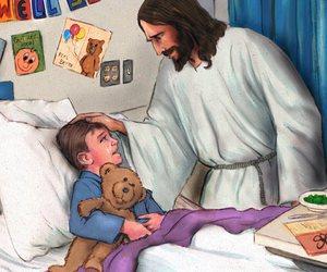 faith, jesus, and salvation image