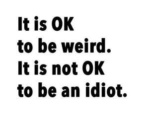 idiot and weird image