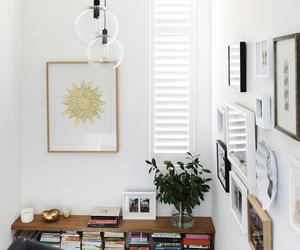 interior, books, and decoration image