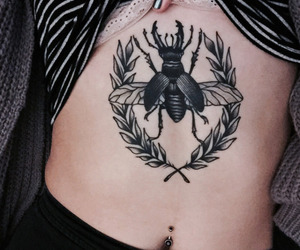 black, nice, and tatto image