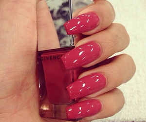 nails, red, and Givenchy image