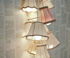light, lamp, and vintage image