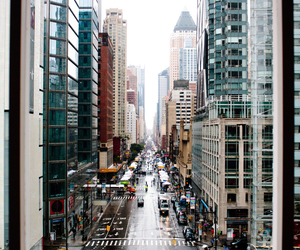 city, new york, and street image