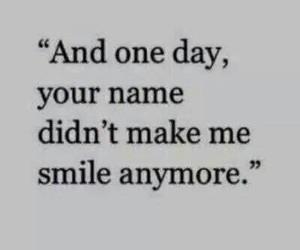 break up, sadness, and smile image
