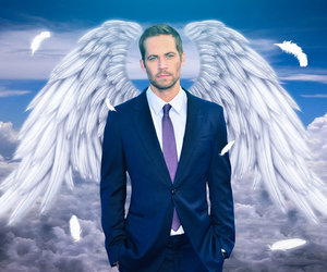 paul walker, angel, and rip image