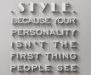style, quotes, and fashion image