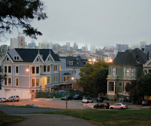 house, city, and hipster image