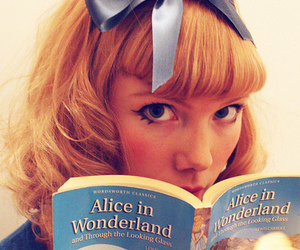 alice, book, and photography image