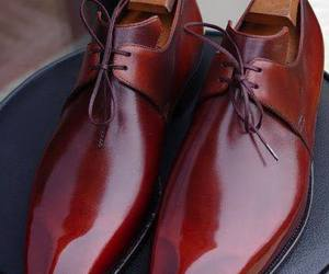 brown, shoes, and mens shoes image