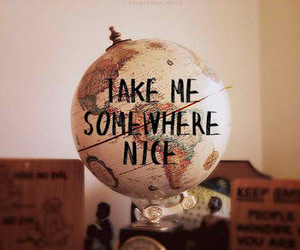 world, travel, and nice image