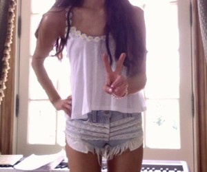 ariana grande, ariana, and shorts image