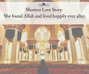 allah, islam, and love story image