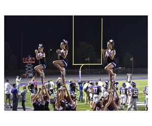 cheer, megan, and pyramid image