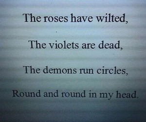 roses, violets, and demons image