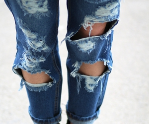 ripped jeans, fashionspot, and ioana chisiu image
