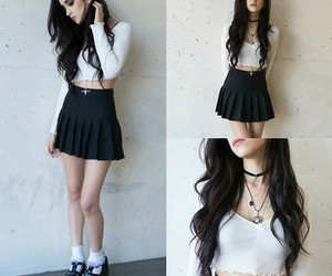 grunge and outfit image