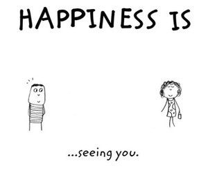 happiness, seeing, and you image