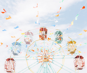 sky, carnival, and summer image