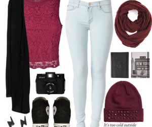 beauty, cool, and outfit image