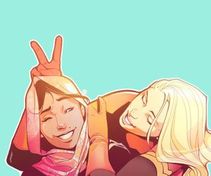 comic, Marvel, and ms marvel image