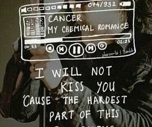 my chemical romance, mcr, and cancer image