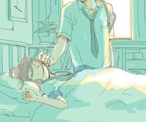 anime, love, and couple image