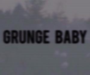 baby, grunge, and melancholic image