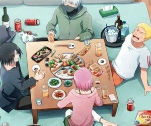 food, sasuke, and team7 image