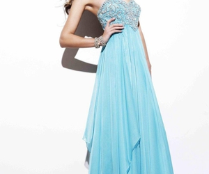 dress, girl, and prom dresses image