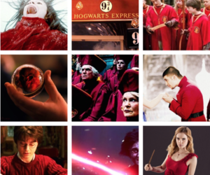 harry potter and red image