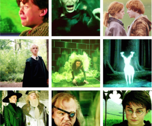 harry potter and green image