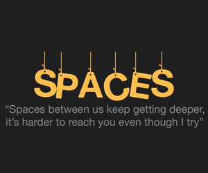 spaces, Lyrics, and one direction image