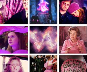 harry potter and pink image