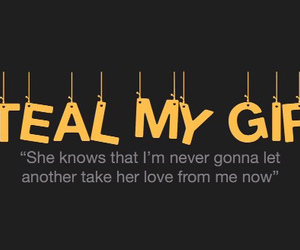 one direction, Lyrics, and steal my girl image