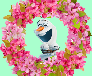 disney, olaf, and frozen fever image
