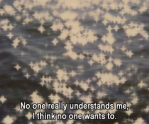 quote, sad, and alone image