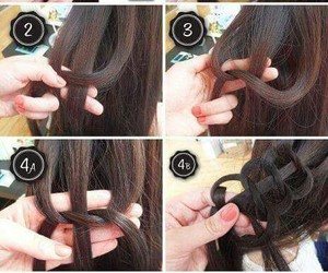 diy, Easy, and hairstyle image