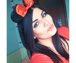 birthday, red, and minny mouse image