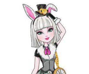 ever after high, bunny, and wonderland image