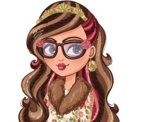 beauty and the beast, rosabella, and ever after high image