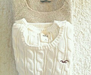 sweater, fashion, and hollister image