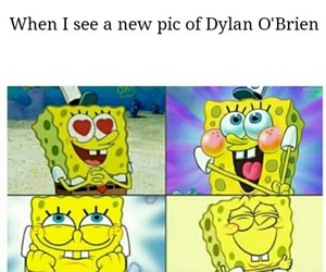 me, dylan o'brien, and funny image